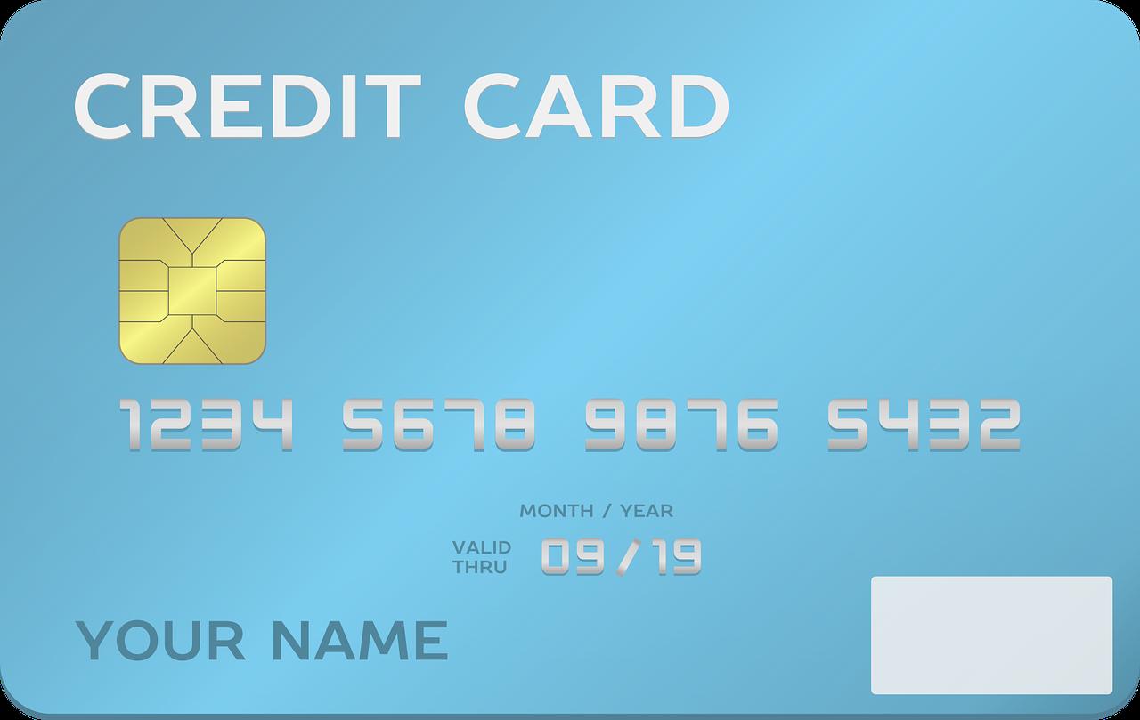Przedpłacone karty kredytowe